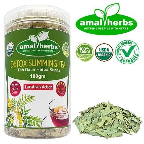 Teh Daun Senna 100gm Slimming Tea